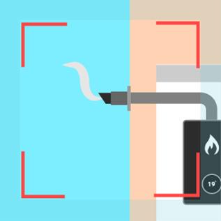 Combi boiler flue