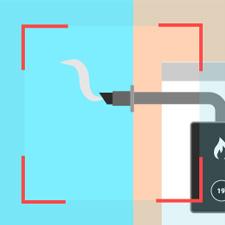 Regular boiler flue