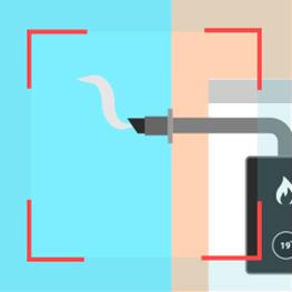 System boiler flue
